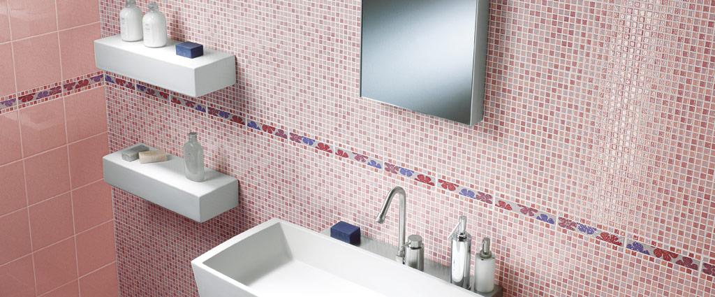 Stile casa bolzano per l 39 arredamento della tua casa - Piastrelle finto mosaico bagno ...