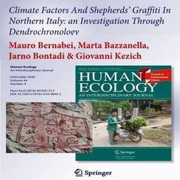Le scritte dei pastori su Human Ecology