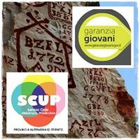 Logo SCUP servizio civile universale provinciale di Garanzia Giovani