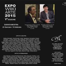 Mostra Expo 2015 galleria Wikiarte Bologna, 2015