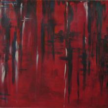 acrilico 80x60 - infinito rosso