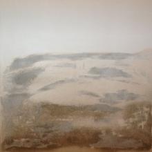 acrilico e sabbia 100x100 - sabbia in scozia