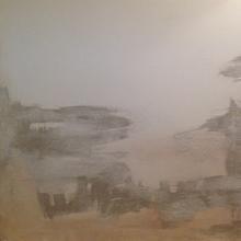 acrilico e sabbia 150x100 - riposo