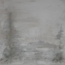 acrilico e sabbia 60x60 - sabbia uno