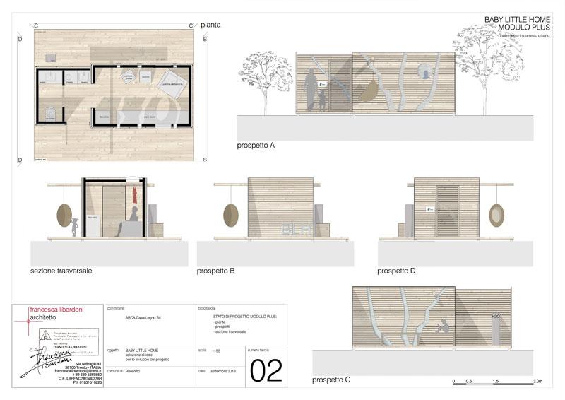 Studio architettura a trento i lavori - Tavole di concorso architettura ...