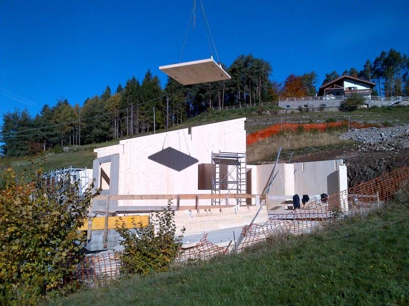 Tomasini costruzioni in legno: case in legno, tetti in legno
