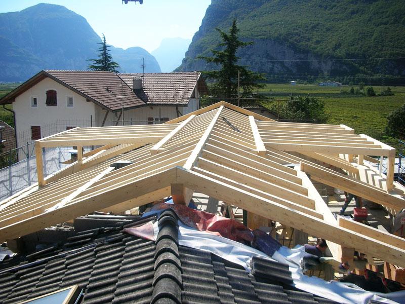 Coperture, tetti in legno, solai, soppalchi, tomasini costruzioni